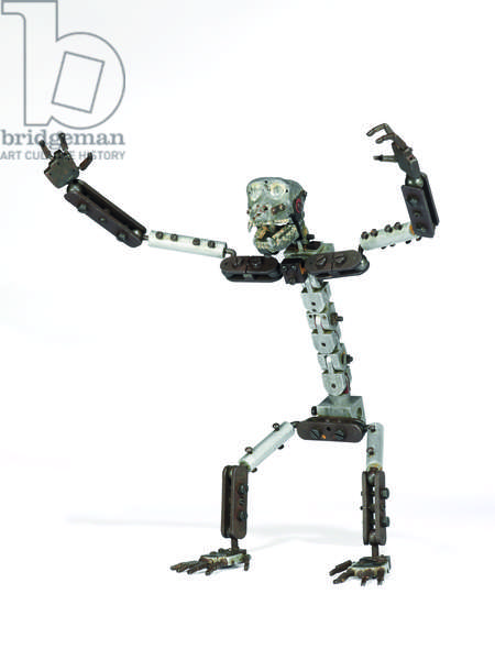 Armature / skeleton miniature model of King Kong, c.1933 (metal) (see also 873088-9)