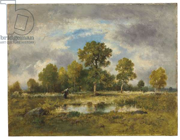 La Mare aux Vipères, 1873 (oil on panel)