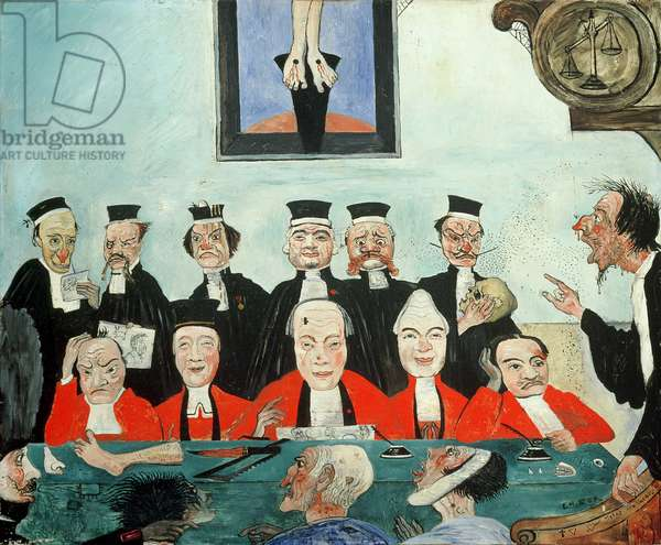 The Good Judges, 1891 (oil on panel)