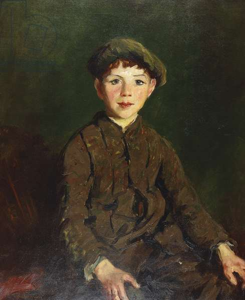 Irish Lad, 1913 (oil on canvas)