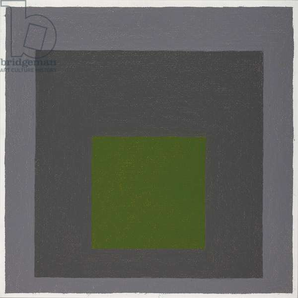 Homage to the Square, c.1963 (oil on masonite)