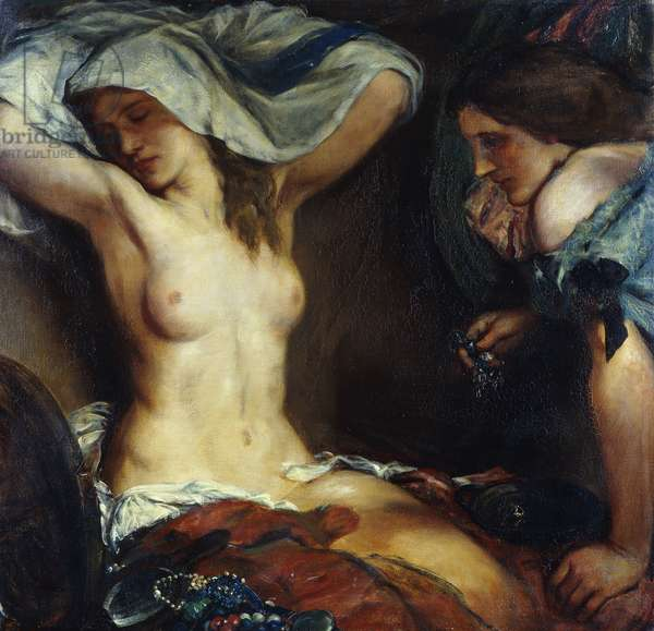 The Amethyst Necklace, 1906 (oil on canvas)