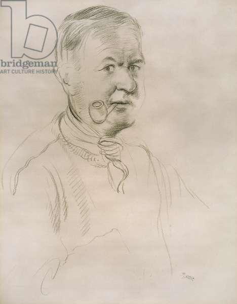 Self Portrait, c.1935 (pencil on paper)