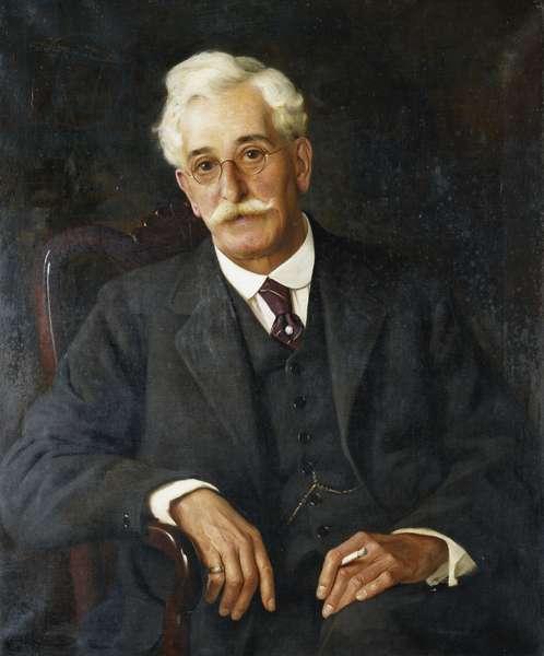 Portrait of Mr. Hilton, 1923 (oil on canvas)