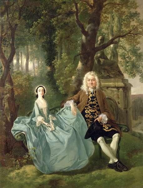 Mr. and Mrs. Carter of Bullingdon House, Bulmer, Essex