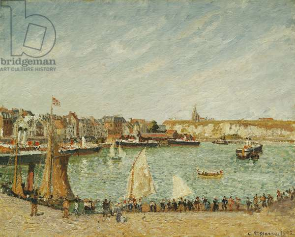 The Afternoon Sun, Outer Port of Dieppe; L'Apres-Midi, Soleil, Avant-Port de Dieppe, 1902 (oil on canvas)