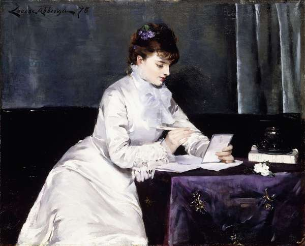 Portrait of Madame Lucien Guitry, 1876 (oil on canvas)