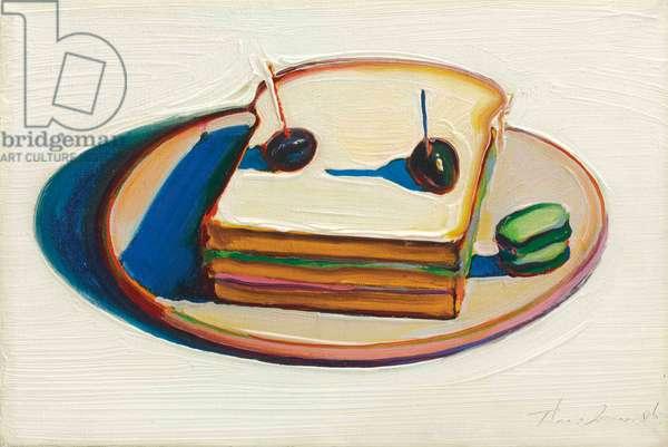 Sandwich, 1963 (oil on canvas)