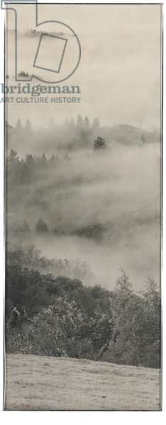 Clearing Storm, Sonoma County Hills, 1951 (gelatin silver print)