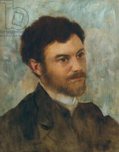 Portrait of a Man; Portrait d'homme, c.1868-1872 (oil on canvas)