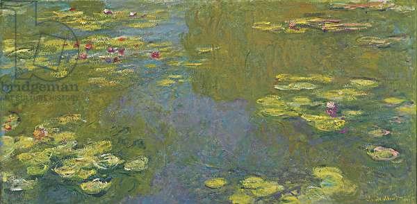 Le Bassin aux Nympheas, 1919 (oil on canvas)