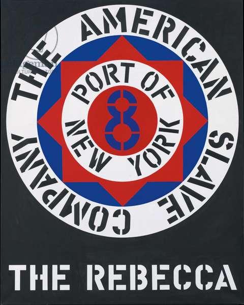 The Rebecca, 1962 (oil on canvas)