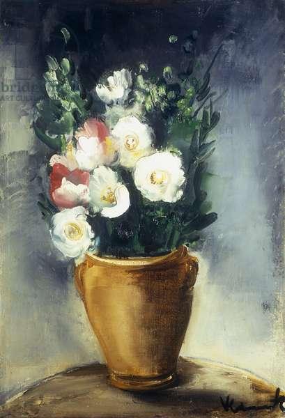 Le Bouquet, (oil on canvas)