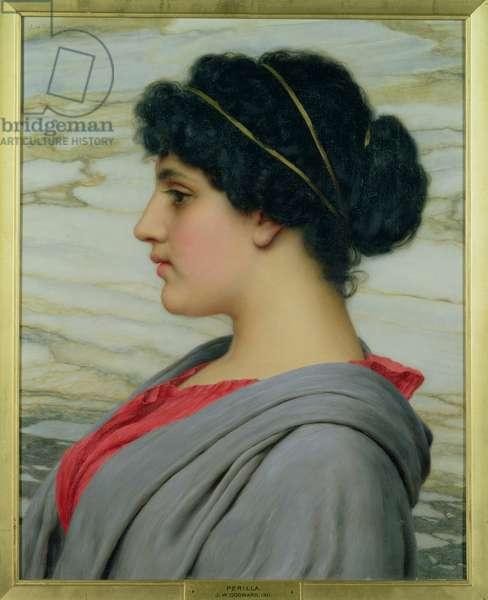 Perilla, 1911 (oil on canvas)