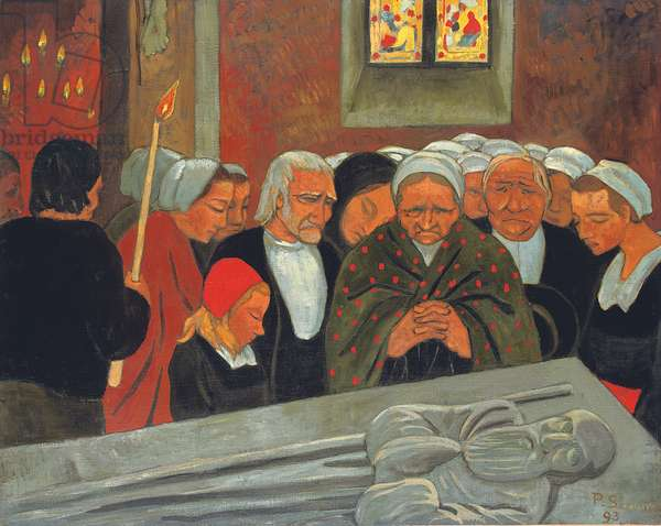 Prayer to Saint Herbot, or The Pardon, 1893 (oil on canvas)