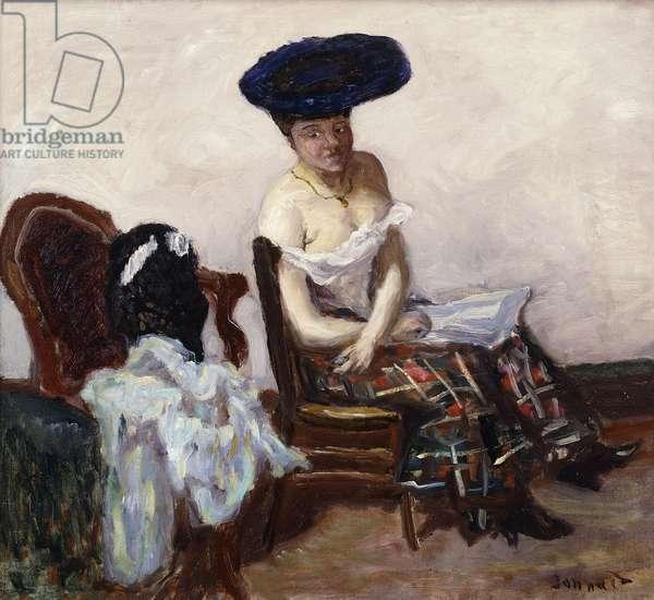 The Scottish Petticoat; Le Jupon Ecossais, 1907 (oil on canvas)