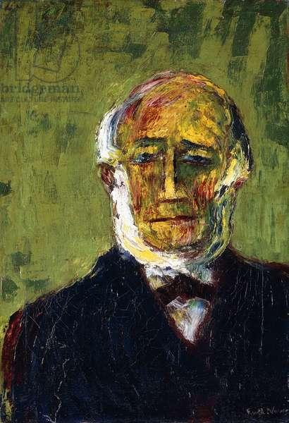 Portrait of a Gentlemen; Herrenbildnis, 1910 (oil on canvas)