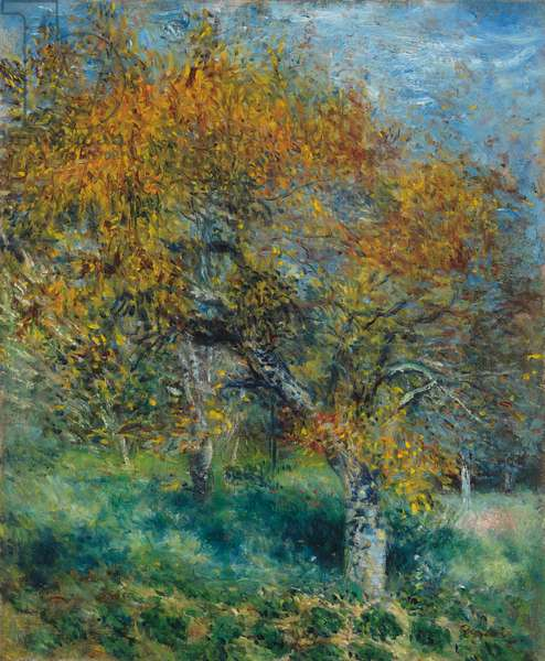 The Pear Tree; Le Poirier, c.1870 (oil on canvas)