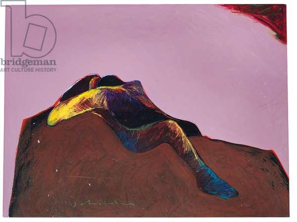 Dream No. 5, 1981 (oil on canvas)