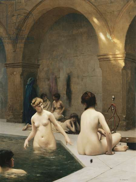 The Bathers; The Baigneuses, c.1889 (oil on canvas)