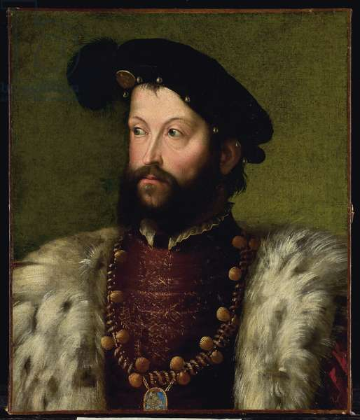 Portrait of a man, presumably Ercole II d'Este (oil on canvas)