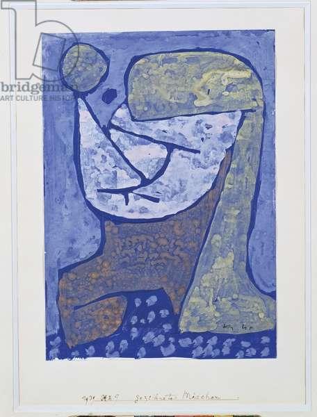 Gezcidinetes Madchen, 1939 (gouache on paper)