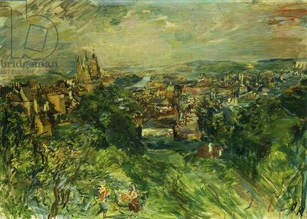 Prague: View of Stahov; Prag: Blick von strahow, 1934 (oil on canvas)