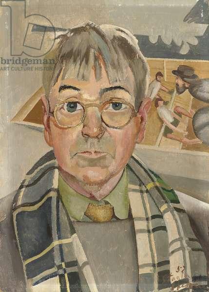 Self portrait, 1957 (oil on panel)