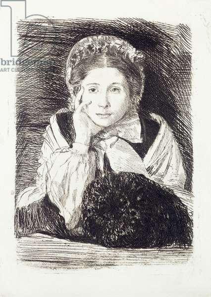 Marguerite, c.1860-62 (heliogravure)