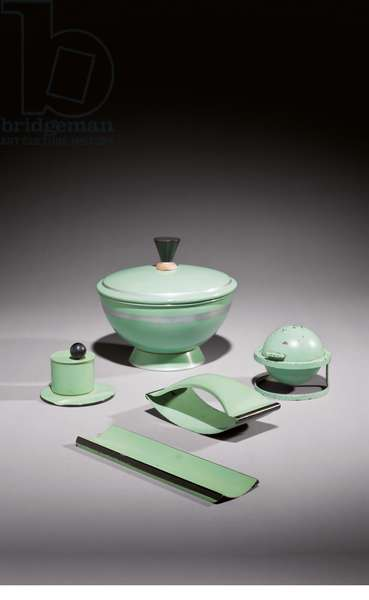 Office set, for Ruppel, c.1932 (ironware)