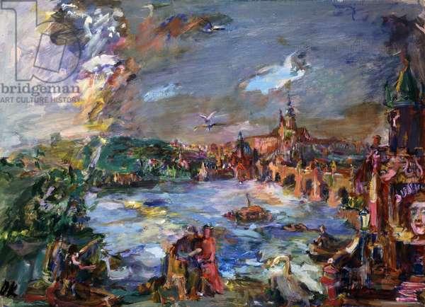Prague, Nostalgia, 1938 (oil on canvas)