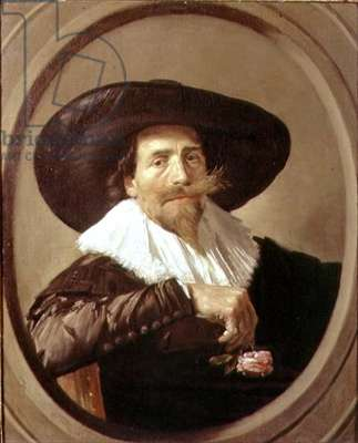 Portrait of a man, possibly Pieter Tjark