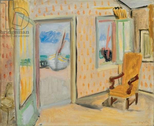 Interior, Open Door; Interieur, porte ouverte, c.1920-1921 (oil on canvas)