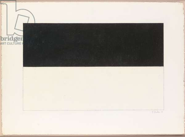 Untitled, 1970 (graphite and wax on paper)