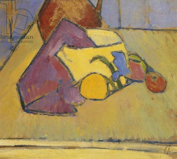 The Yellow Saucepan; Der Gelbe Topf Pot, c.1909 (oil on paper)