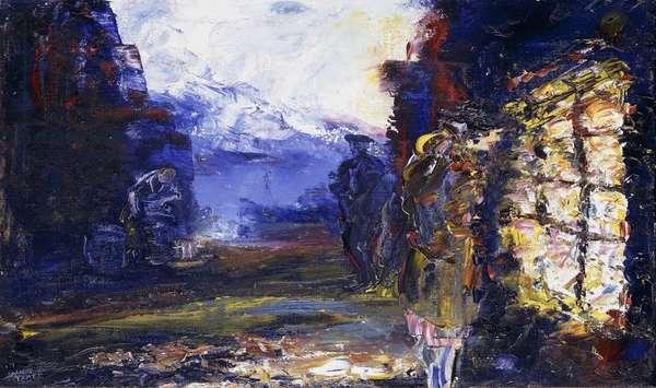 Autumn, 1944 (oil on canvas)