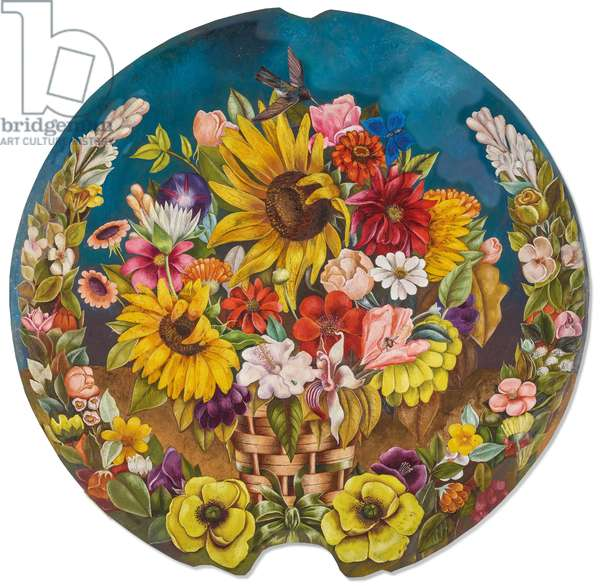 The Flower Basket, 1941 (copper plate)