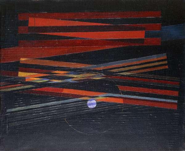 The Sea and the Sun; Ler Mer et le Soleil, c.1928 (oil on canvas)