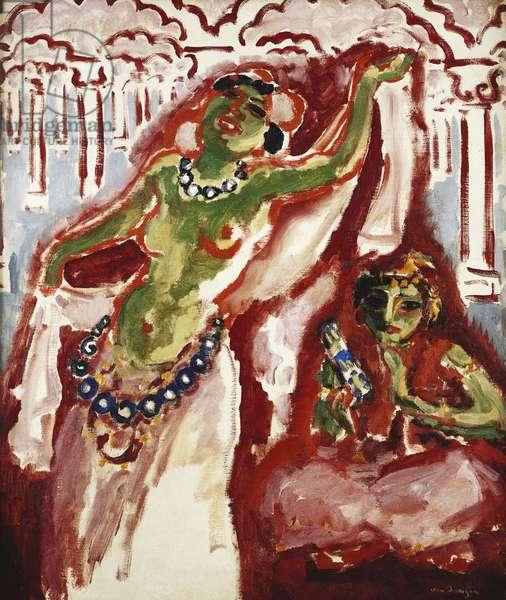 Belly Dancer - Beautiful Fatima; Danseuse Orientale - La Belle Fatima, 1906 (oil on canvas)