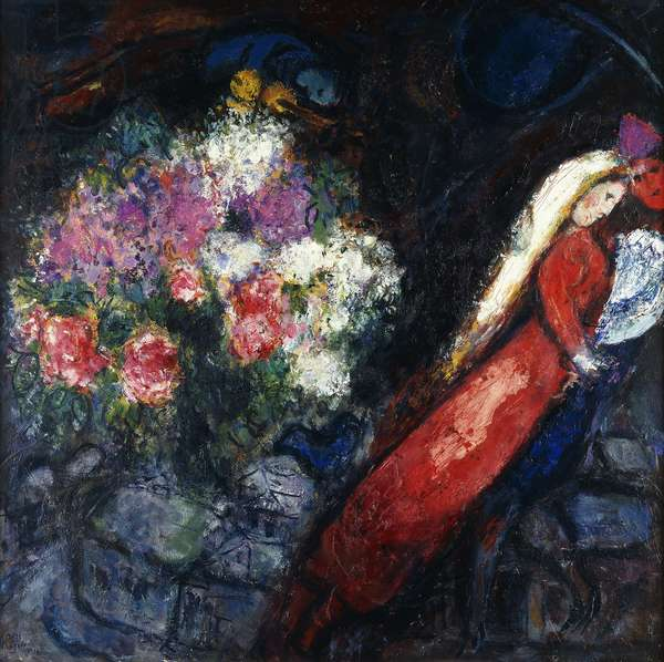 Woman in Red, 1956