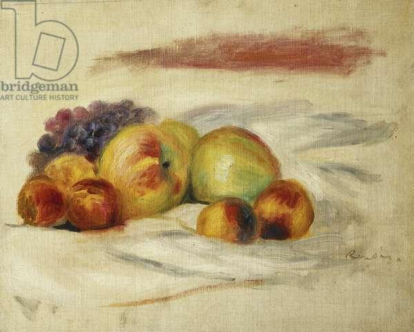 Apples and Grapes; Pommes et Raisins, c. 1910 (oil on canvas)
