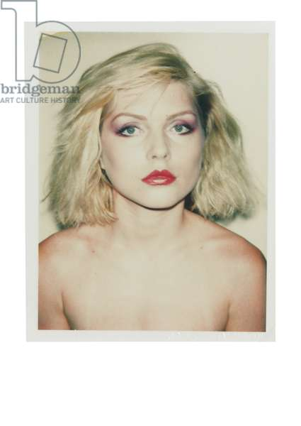 Debbie Harry, 1980 (unique Polacolor print)