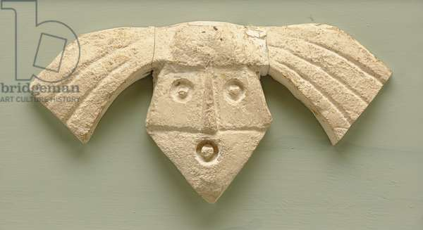 Mask 'K', c.1968 (plaster relief for bronze cast)