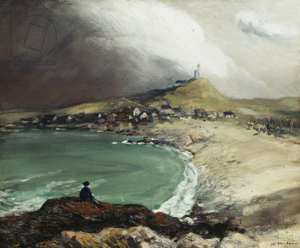 Cap Noir, St. Pierre, 1902 (oil on canvas)