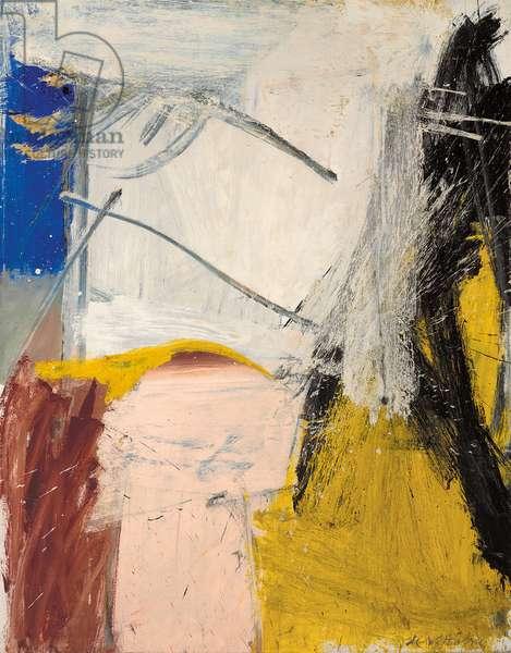 September Morn, 1958 (oil on canvas)