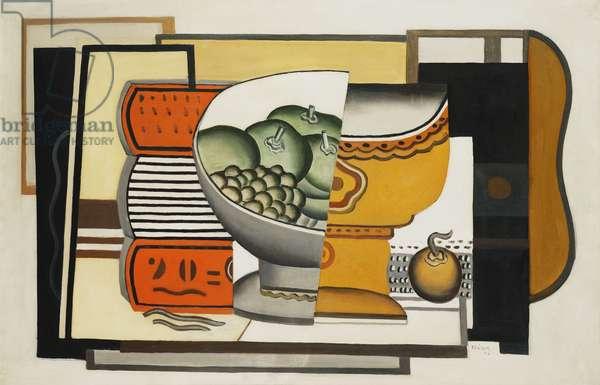 Fruit Bowl; Le Compotier, 1925 (oil on canvas)