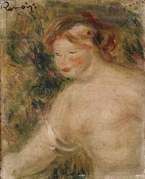 A Female Torso, 1910 (oil on canvas)