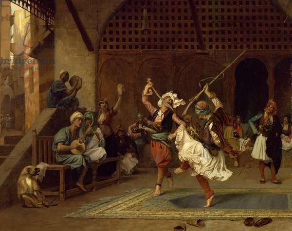 The Pyrrhic Dance, 1885 (oil on canvas)