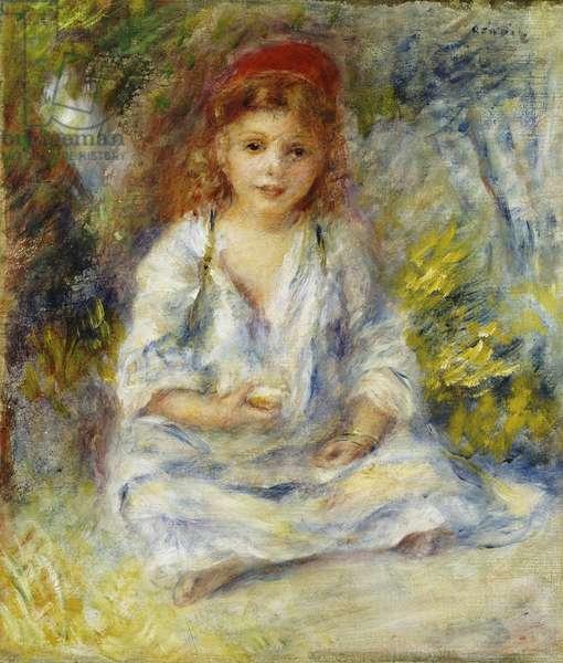 Young Algerian Girl, c.1881 (oil on canvas)