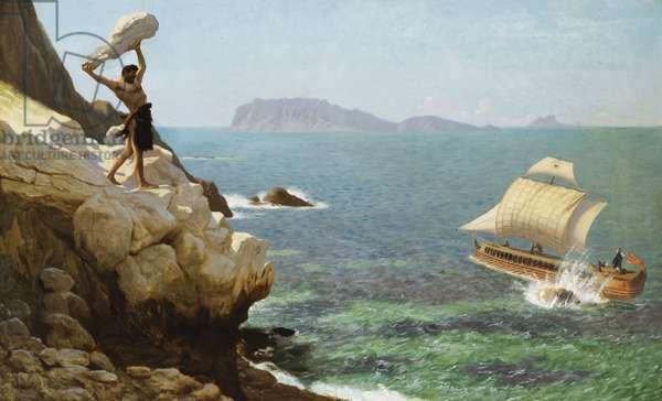 Polyphemus,  (oil on canvas)